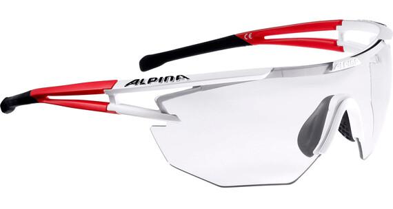 Alpina Eye-5 Shield VL+ Brillenglas rood/wit